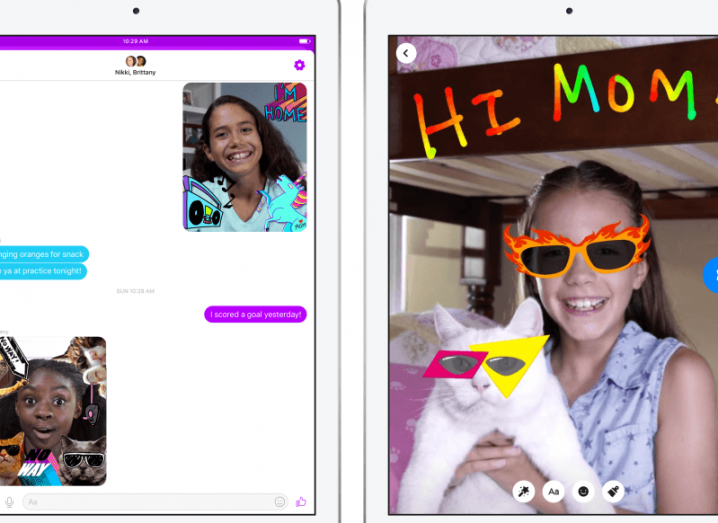 Facebook debuts Messenger Kids, an ad-free app that gives parents control