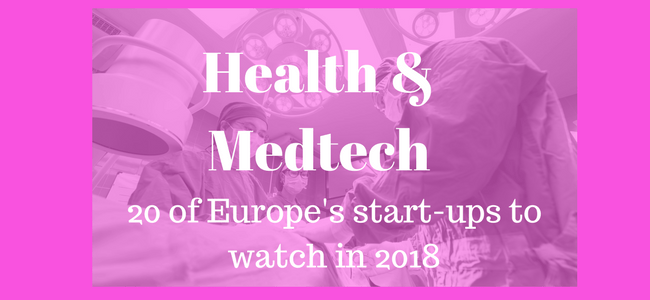 20 of Europe's top health and medtech start-ups