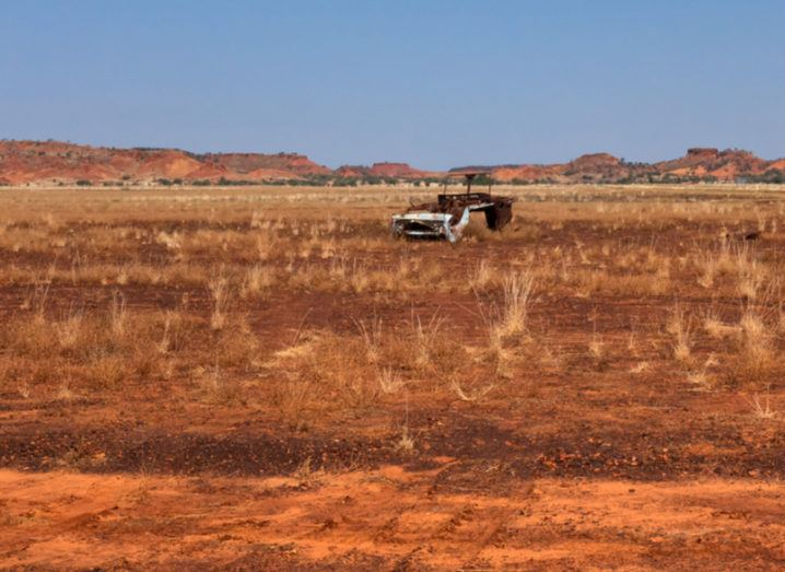 Climate arid landscape