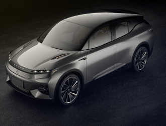 Chinese start-up reveals EV with a 'living room' space at CES 2018