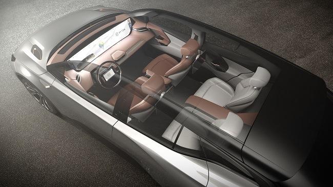 Byton interior concept