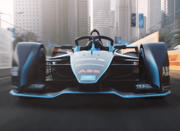 Formula E's latest electric hypercar is a futuristic sight to behold