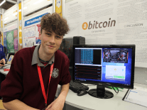 Renewable bitcoin mining and insects for dinner at BT Young Scientist