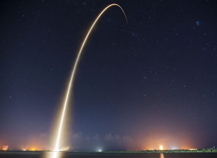 Did SpaceX lose a secret government satellite?