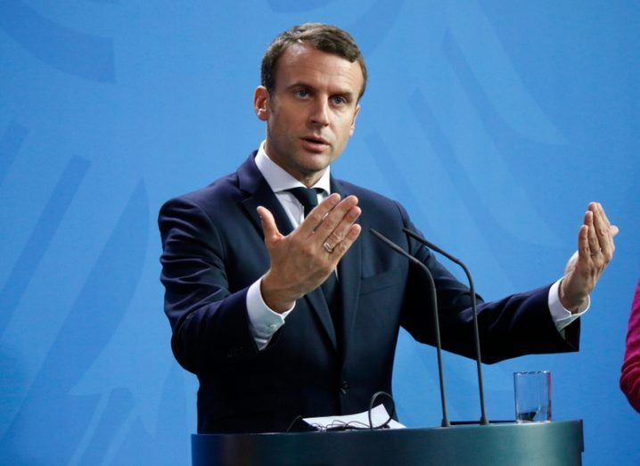 France's Macron vows law vs fake news, eyeing Russian Federation