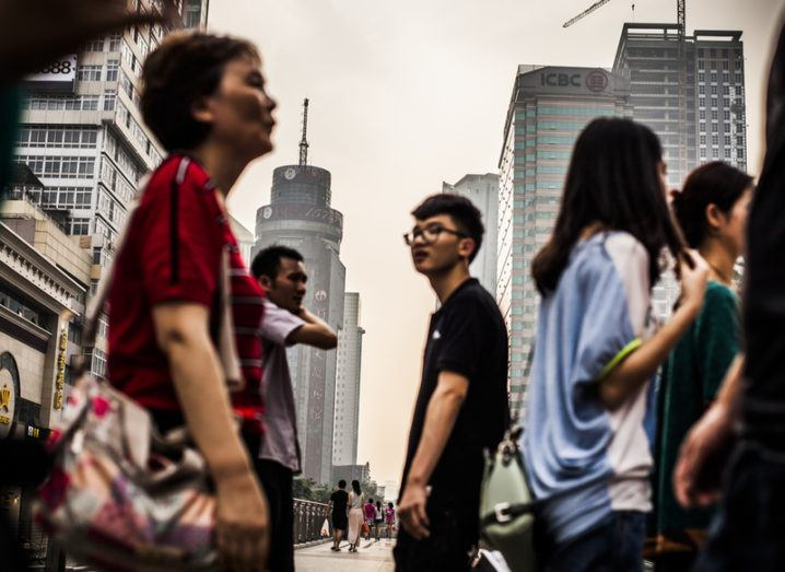 Crowd in the Chinese city of Chengdu. Image:Baiterek Media/Shutterstock