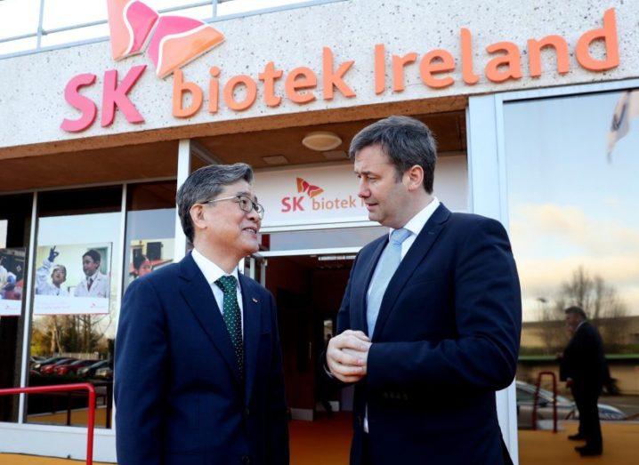SK Biotek Dublin opening ceremony