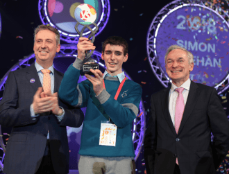 Biology project steals the show at this year's BT Young Scientist