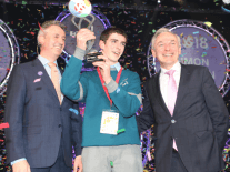 Simon Meehan takes home top prize for biology project at BT Young Scientist 2018