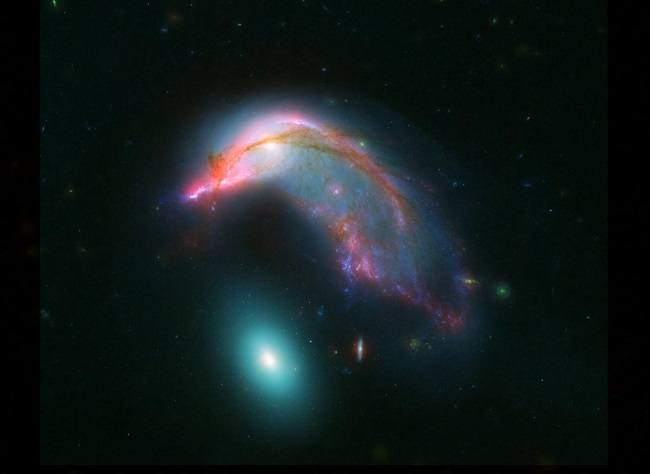 Penguin and egg galaxies