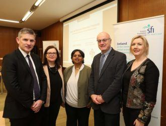 SFI awards €2.8m in funding to five leaders in Irish science policy