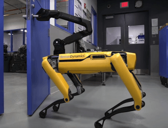 Boston Dynamics gives its dog-like robot a powerful new tool
