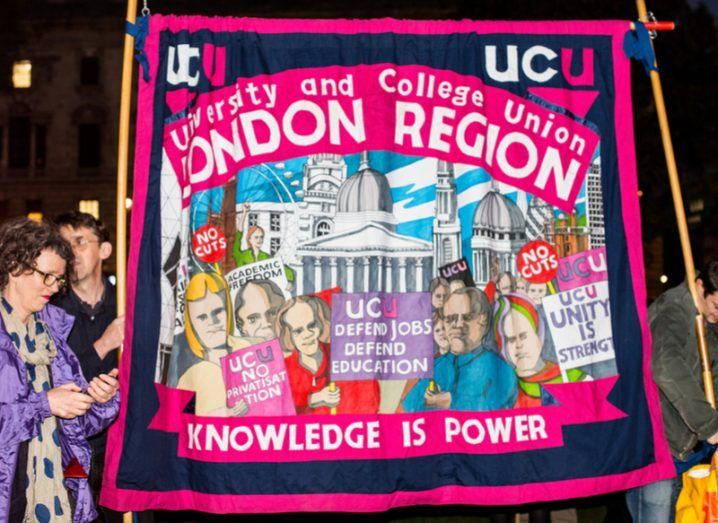 Why are lecturers from more than 60 UK universities on strike?