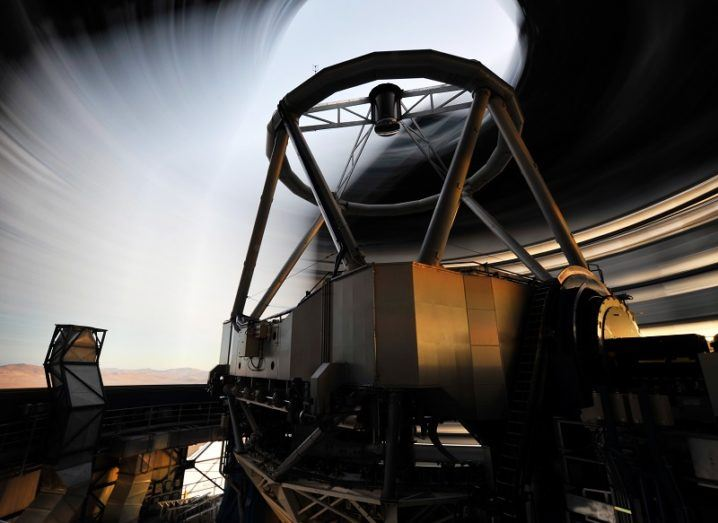 ESO switches on the largest ever optical telescope in Chile