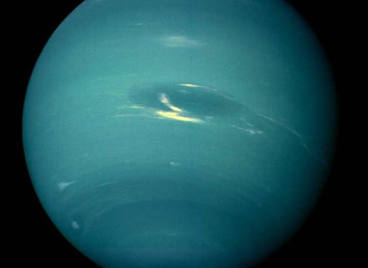 Hubble Captures Neptune's Mysterious Dying Storm-And It Smells Awful