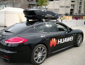 Watch: Inside a Porsche driven by a Huawei smartphone