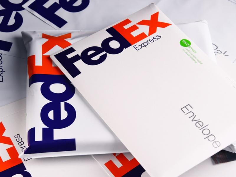 FedEx parcels