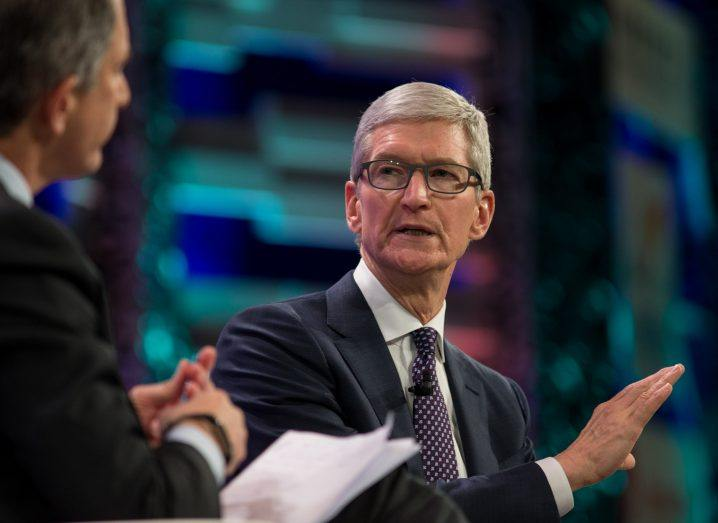 Tim Cook blasts Facebook over data privacy
