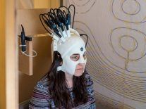 Scientists unveil 3D-printed brain scanner you can wear playing ping-pong
