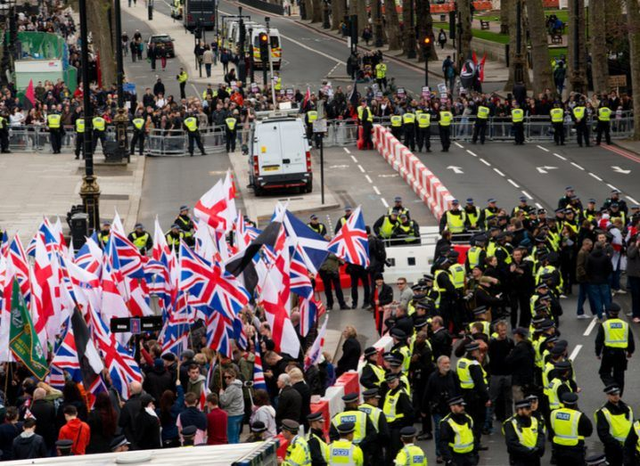 Facebook bans far-right Britain First, its leaders