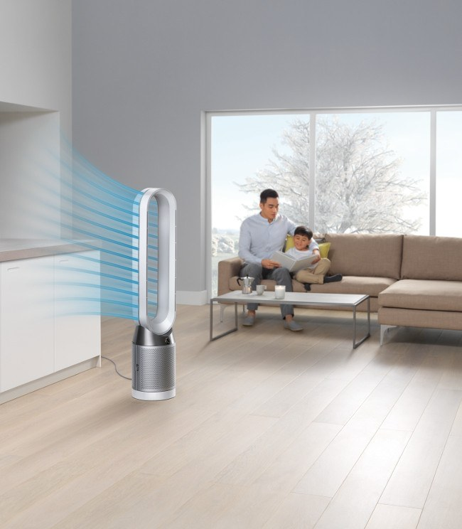 The new Dyson Pure Cool purifying fan. Image: Dyson