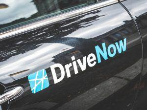BMW DriveNow car