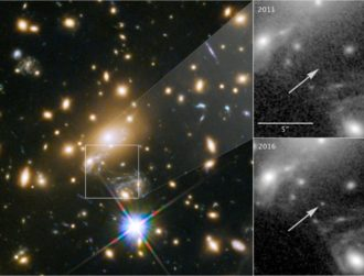Hubble telescope captures image of Icarus, the most distant star ever seen