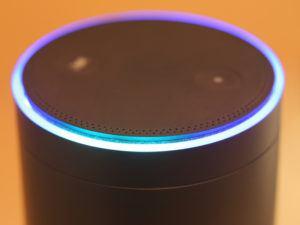 An Amazon Echo