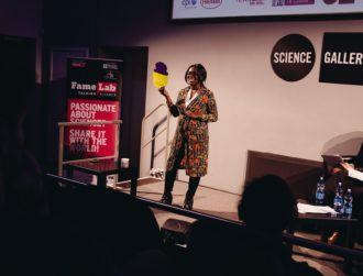 Fresh from FameLab success, meet the new face of science in Ireland