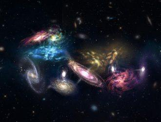 Astronomers observe a galaxy pile-up unlike anything seen before
