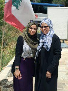 Mona Alyedreessy and Dr Samira Zaidan Azara