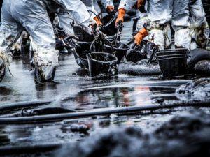 New super sponge can suck up oil spills like it's nobody's business