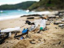 Satellite snaps image of uninhabited Pacific island covered in plastic