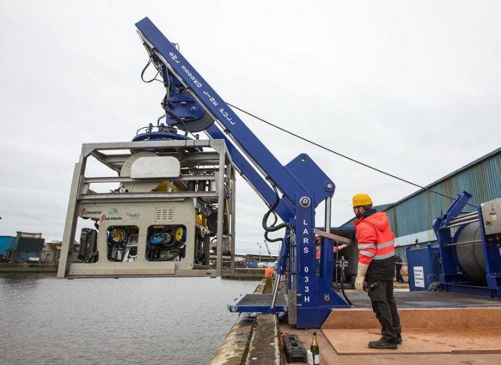 €2m marine robot will patrol Ireland's offshore energy devices