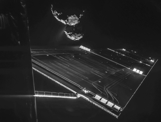 Incredible GIF shows turbulent Comet 67P snowstorm seen by Rosetta