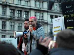 Cambridge Analytica and AIQ whistleblower Christopher Wylie