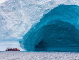 Satellite data reveals the extent of Antarctica's underwater ice loss