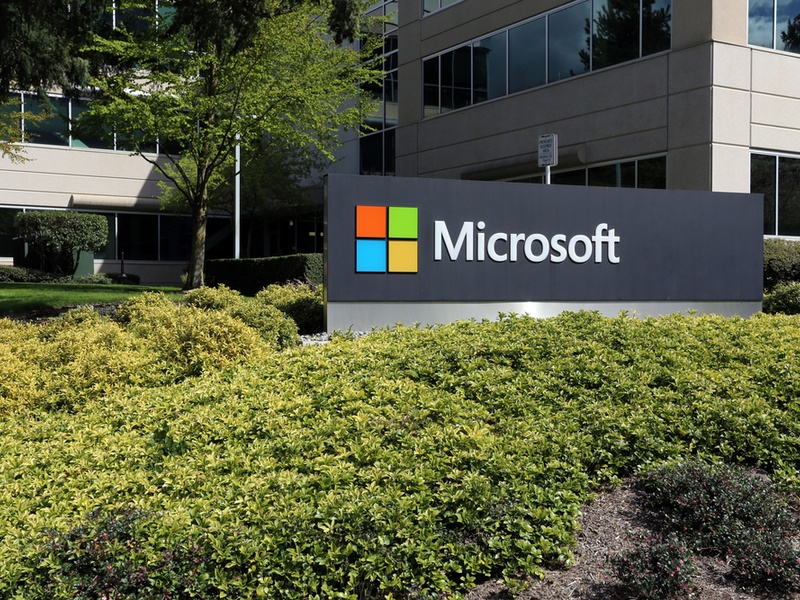 Microsoft HQ in Redmond
