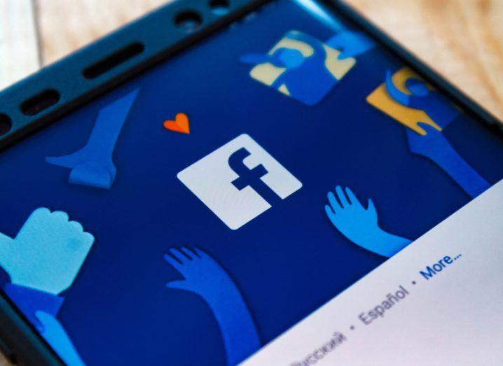 Facebook app