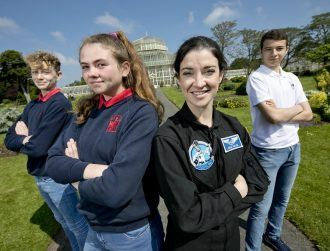 BT Young Scientist projects to be tested on moon training mission