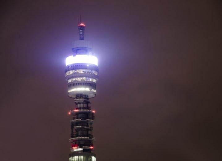 Image of iconic BT tower in London