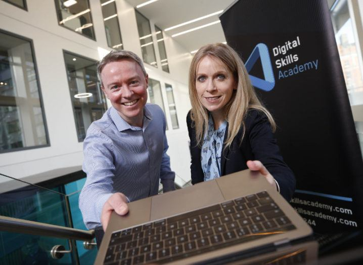 Digital Skills Academy powers Bank of Ireland's move into AR, VR and voice