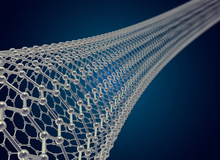Carbon nanotubes illustration