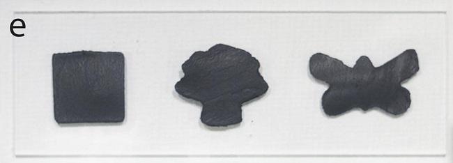 Carbon nanotube moulds