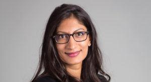 Farzana Nasser, co-president of Women in Wireless