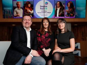 The Inspirefest 2018 official schedule has been revealed