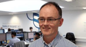 Jonathan McKidd, head of digital operations and robotics at Bank of Ireland