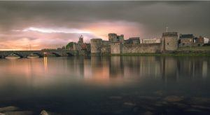 King John's Castle is a castle located on King's Island in Limerick, next to the River Shannon.