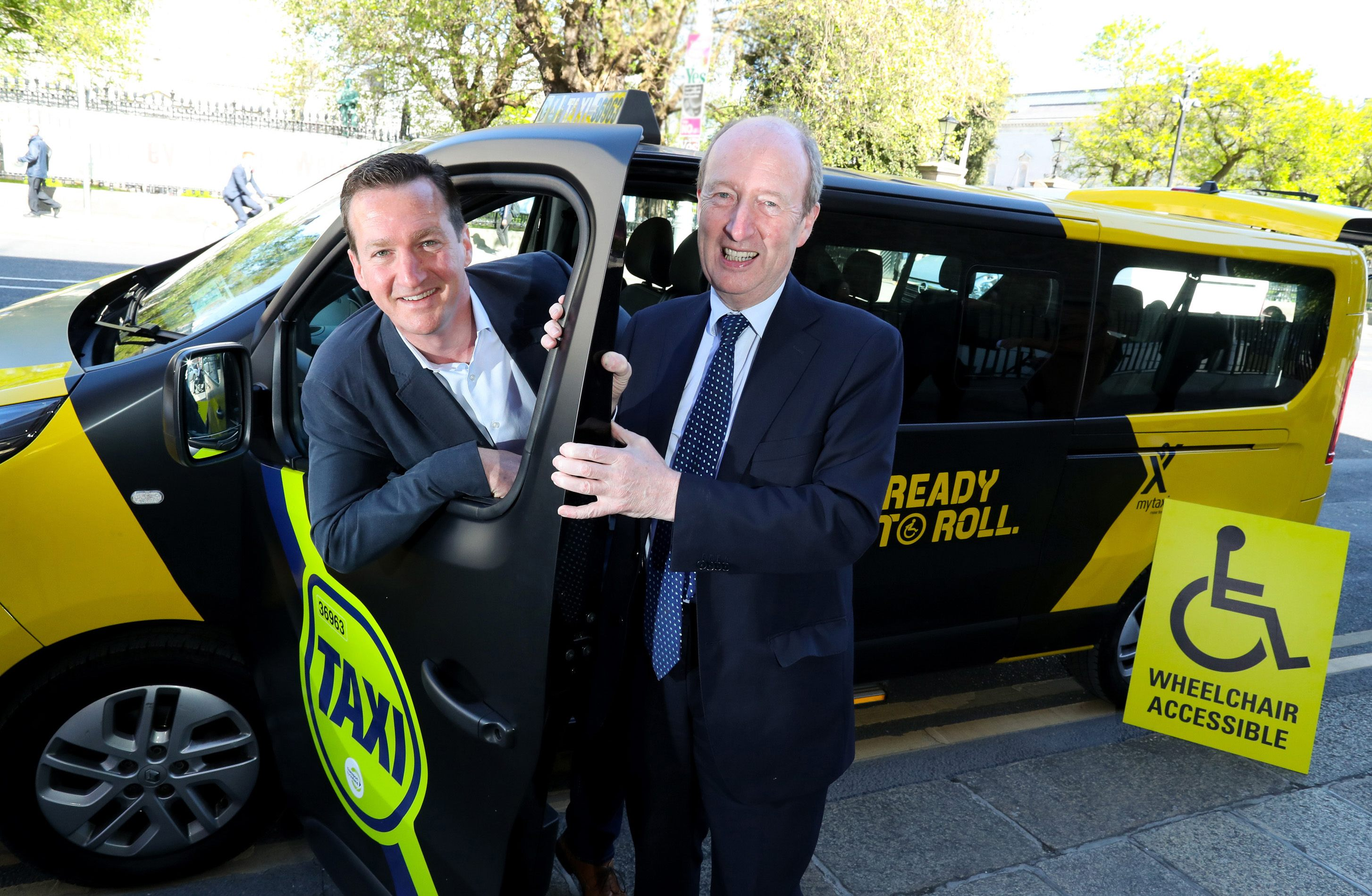 Mytaxi announces €15,000 in electric vehicle and accessibility