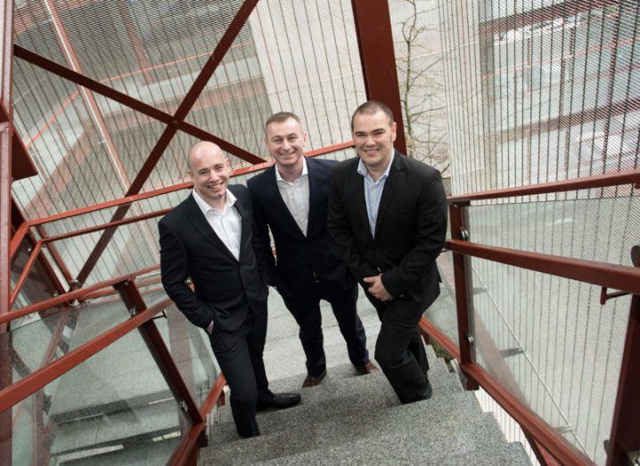 Pictured announcing that Paradyn had won €3 million in new IT and communications contracts with Ireland's local authorities in the past 12 months are (L to R) Paul Casey, COO, Paradyn; Cillian McCarthy, CEO, Paradyn; and Rob Norton, CTO, Paradyn.